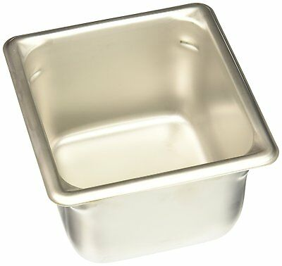 """Vollrath 30642 4"""" Deep Super Pan V Stainless Steel Sixth-Size Steam Table Pan"""