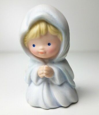 Avon Heavenly Blessings Christmas Nativity Mary Jesus Figurines Replacement 1986