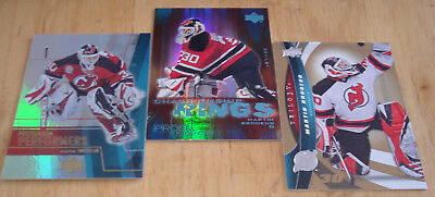Martin Brodeur 2009-10 Ud Trilogy#30  ** Card On Right **