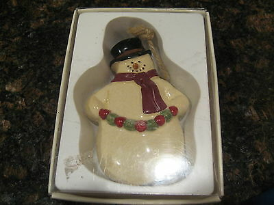 The Christmas Sampler Ornament by RUSS- Snowman #16840