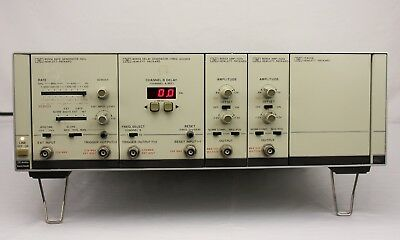 HP Agilent 8080A Mainframe 8091A Rate Generator 8092A Delay 8093A Amp 1 GHz