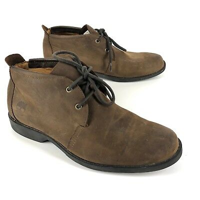 TIMBERLAND MENS CHUKKA boots mens 5218R leather Nubuck earthkeepers 9M