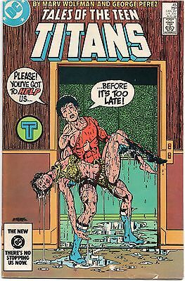 TALES OF THE TEEN TITANS #45 DC (1984) 2nd appearance Nightwing New Titans
