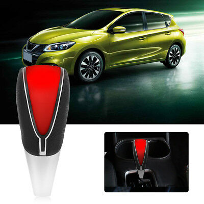 Car Auto Touch Motion Activated Red LED Light Gear Shift Lever Knob Shifter