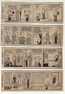 Morty Meekle by Dick Cavalli (Winthrop) - 23 daily comic strips from June 1960