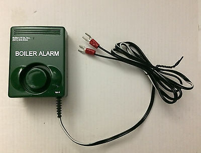 LOT of 3 Boiler Furnace Alarms fit any control with 'A' terminals -alarm circuit