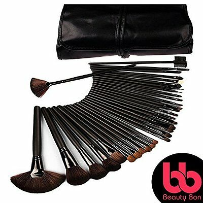 Collection 32 Professional Makeup Brushes Eyeshadow Lip Eyeliner Set Beauty NEW