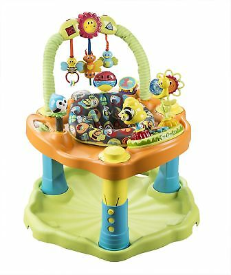 Evenflo Exersaucer Double Fun, Bumbly 3 Position Height Adjust Machine Washable