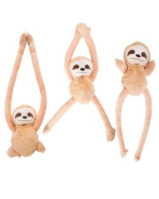 Sloth Pullie Pal Soft Toy Plush Cute Baby Shower Gift Cool Novelty Sweet Animal