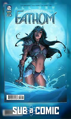 ALL NEW FATHOM #6 COVER B VALENTINO (ASPEN MLT 2017 1st Print) COMIC