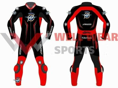 MV Agusta One Piece Motogp Motorbike Racing Leather Suit All Size Available