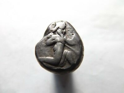 Quality Ancient Persian Silver Siglos Coin: 5.4 Grams!