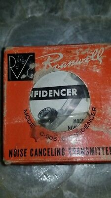 Vintage Roanwell Communications Confidencer Telephone Mouthpiece