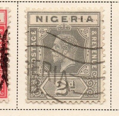 Nigeria 1921-33 Early Issue Fine Used 2d. 215301