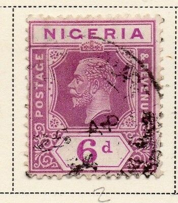 Nigeria 1921-33 Early Issue Fine Used 6d. 215304