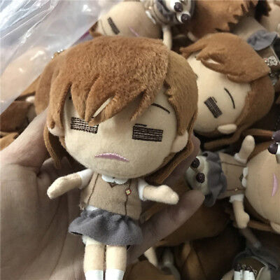 Anime Toaru Kagaku No Railgun Misaka Mikoto Keychain Soft Doll Toy Cute Plush