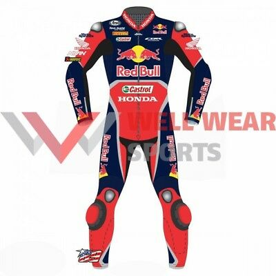 Nicky Hayden 2017 Model 1 Piece  Motorbike Leather Race suit All Size Available