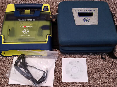 Cardiac Science Power Heart AED G3 9300- No Battery or Pads