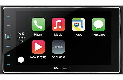 Pioneer SPH-DA120 AppRadio 4 Smartphone Receiver Apple CarPlay/AUX/USB/BT/HDMI
