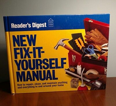 Reader's Digest New Fix It Yourself Manual Book