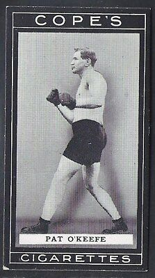 Cope Copes-Boxers Boxing-#044- Pat O'keefe