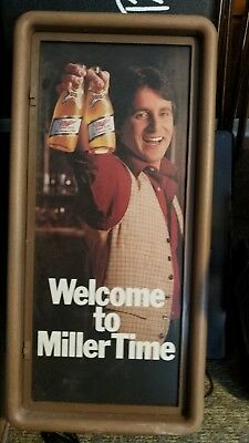 Vintage Miller High Life It's Miller Time Lighted Sign
