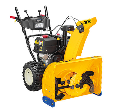 NEW CUB CADET 3X 28 3-Stage Elec Start Gas Snow Blower with Pwr Steer