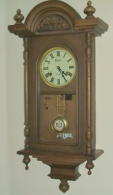 Centurion 35 Day Key Wind Jacobean Style Wall Clock - Parts and Repair Clock