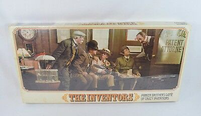 1974 The Inventors Parker Brothers Board Game Vintage BRAND NEW SEALED Rare