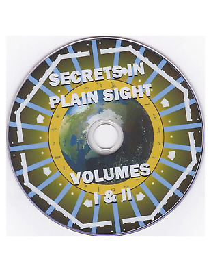 Secrets in Plain Sight 1 + 2 DVD (Ancient Architecture, Geometry, Astronomy)