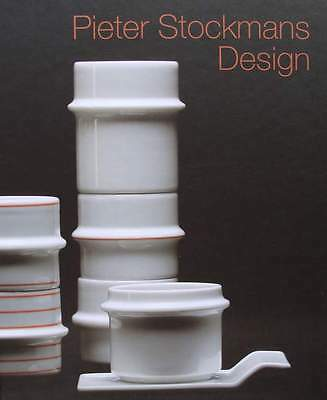 FRENCH BOOK : PIETER STOCKMANS DESIGN Belgian porcelain Royal Boch,Mosa,Wegter