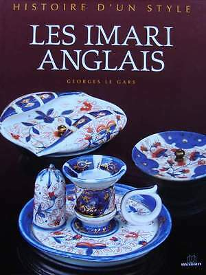 FRENCH BOOK : English Imari Porcelain (antique Spode, Derby china ....