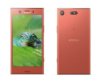 Sony XPERIA XZ1 Compact in Pink Handy Dummy Attrappe - Requisit, Deko, Werbung