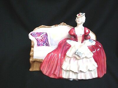 "Royal Doulton Porcelain ""Belle of the Ball"" Figurine"