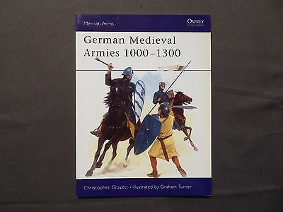 Osprey, Men-at-Arms 310, German Medieval Armies 1000 - 1300, von 1997, english