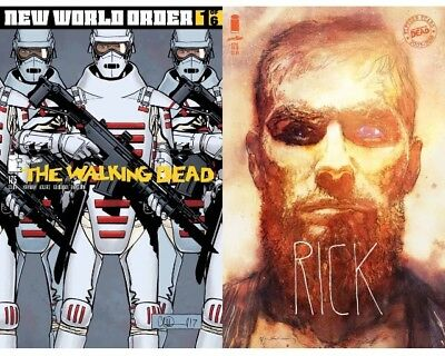 Walking Dead #175  Cvr B Sienkiewicz + Regular New World Order