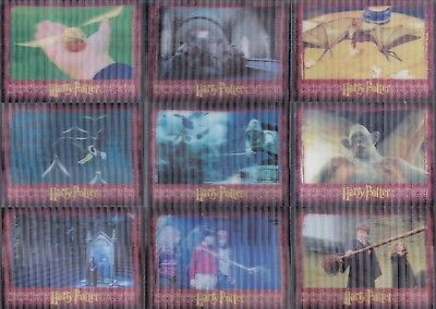 The World Of Harry Potter 3D Series 1 2007 Complete Base Card Set Of 72 Movie