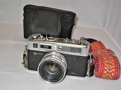YASHICA GSN ELECTRO 35 with BATTERY ADAPTER EX+