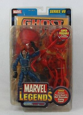 Marvel Legends PHASING GHOST RIDER Series VII 7 Action Figure Toybiz