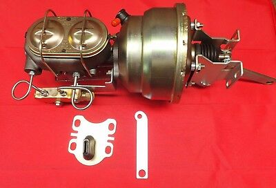"1954-1956 FORD VICTORIA 8"" POWER BOOSTER MASTER AND PROPORTIONING VALVE pv2"