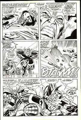 The Mighty Thor #398 Comic Original Art By Ron Frenz And Don Heck