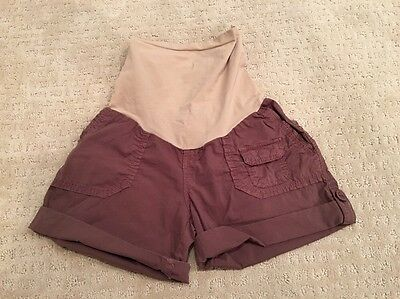 Women's Maternity Sanctuary - A Pea In The Pod Small Brown Shorts