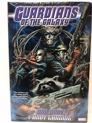 Marvel GUARDIANS OF THE GALAXY by ABNETT OMNIBUS Hardcover HC - NEW - MSRP $100