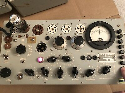 TV-7 /U Tube  Tester  for  Parts  or  Not  Working