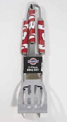 Wisconsin Badger 2pc Barbecue Set