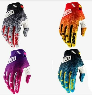 Cycling Gloves 100 Percent Full Finger 100% Mountain Bike Downhill BMX 2018 1c2673362