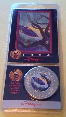 NEW Disney Store Decade Coin / Card   #36 20,000 Leagues Under The Sea 1954