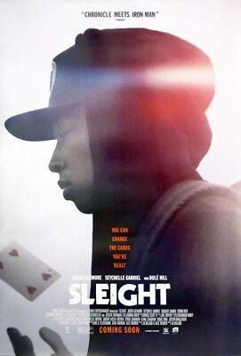 SLEIGHT great ORIGINAL ds 27x40 movie poster (s01)
