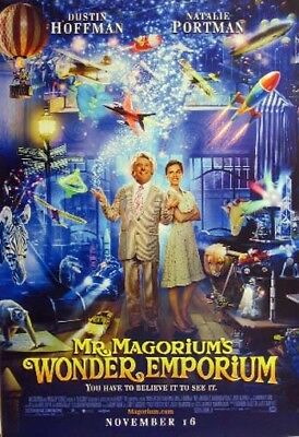 MR. MAGORIUM'S WONDER EMPORIUM great original D/S 27x40 movie poster (s01)