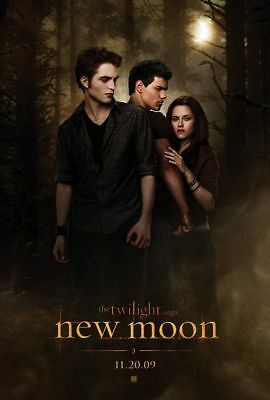THE TWILIGHT SAGA: NEW MOON great original 27x40 D/S movie poster (s01)